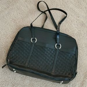 Coldwater Creek Black Large Purse w/ Compartments